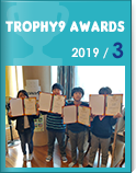 TROPHY9 Awards Ceremony in March 2019
